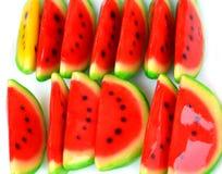 Watermelon. False on white food Royalty Free Stock Image