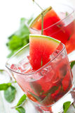 Watermelon Mojito Royalty Free Stock Photography