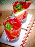 Watermelon mojito Stock Photography