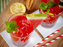 Watermelon mojito Stock Photo