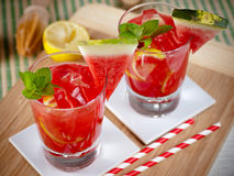 Watermelon mojito Stock Image
