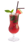 Watermelon mojito Stock Images