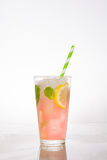 Watermelon mojito on white background Stock Photography