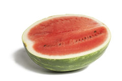 Watermelon over white Stock Image