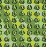 Watermelon pattern illustration Stock Photography