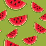 Watermelon pattern Stock Images