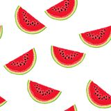Watermelon pattern Royalty Free Stock Image