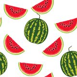 Watermelon pattern Stock Photography