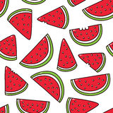Watermelon pattern. Stock Photography