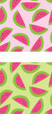 Watermelon Patterns Royalty Free Stock Photography