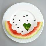 Watermelon peel Royalty Free Stock Photo