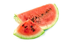 Watermelon piece isolated Stock Photography