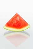 Watermelon. Pieces with  background Stock Photos