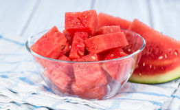 Watermelon Pieces Royalty Free Stock Photography
