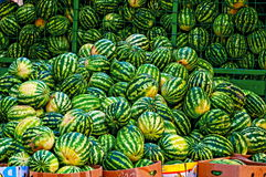 Watermelon pile Royalty Free Stock Images