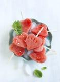 Watermelon Pops. Royalty Free Stock Photos