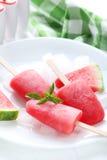 Watermelon popsicle Stock Photo