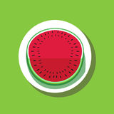 Watermelon poster concept Royalty Free Stock Image
