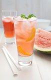 Watermelon punch Royalty Free Stock Image