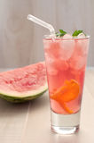 Watermelon punch Stock Photo