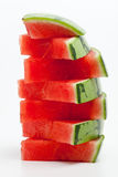 Watermelon pyramid Royalty Free Stock Photos