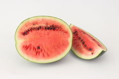 Watermelon red on a white background. Royalty Free Stock Image
