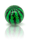 Watermelon rubber ball  on white Royalty Free Stock Photo