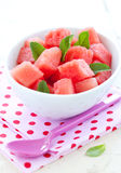 Watermelon salad Stock Photos