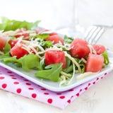 Watermelon salad Stock Image