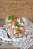 Watermelon salad Royalty Free Stock Image
