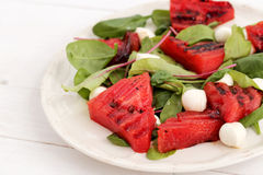 Watermelon salad Royalty Free Stock Image