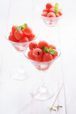 Watermelon scoop ball Royalty Free Stock Photography