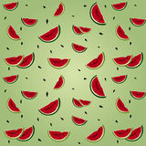 Watermelon seamless stock photos
