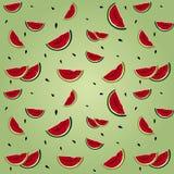 Watermelon seamless Stock Photos