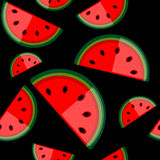 Watermelon seamless background for your design Royalty Free Stock Photography