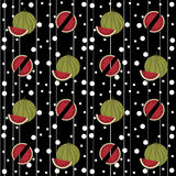 Watermelon. Seamless pattern.Seamless pattern can be used for wallpaper, pattern fills, web page background,surface textures Stock Photography