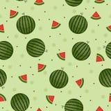 Watermelon seamless wallpaper Royalty Free Stock Photo