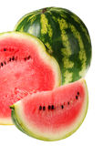 Watermelon slice Royalty Free Stock Images