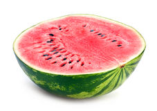 Watermelon slice detail Royalty Free Stock Images