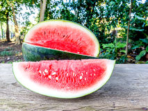 Watermelon and slice Royalty Free Stock Photos