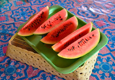 Watermelon slice Royalty Free Stock Photo