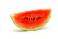 Watermelon slice isolated Stock Image