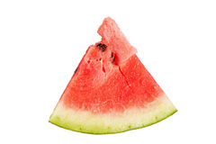 Watermelon slice isolated Royalty Free Stock Photography