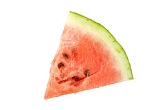 Watermelon slice isolated Stock Photo