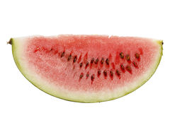 Watermelon slice Royalty Free Stock Photography