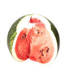 Watermelon slice Stock Images