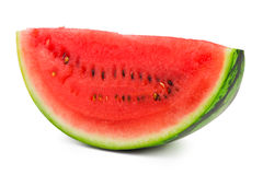 Watermelon slice Stock Image
