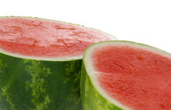 Watermelon Sliced in Half Stock Photos