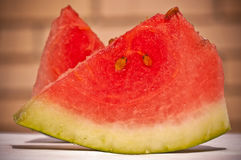 Watermelon slices Stock Images