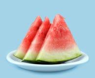 Watermelon slices Stock Photo